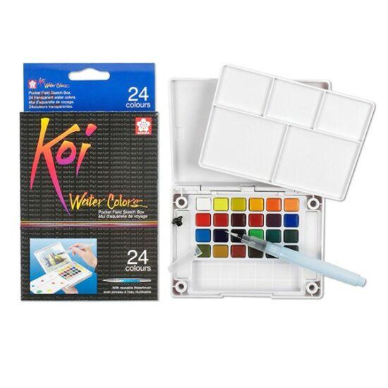 Koi Akvarellfesték - 24 darabos készlet
