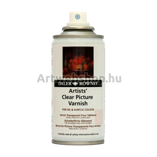 Daler-Rowney Festménylakk Spray (olajhoz és akrilhoz)