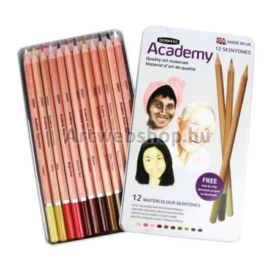 Academy Akvarell Ceruza - 12 darabos készlet (Arctónusok)