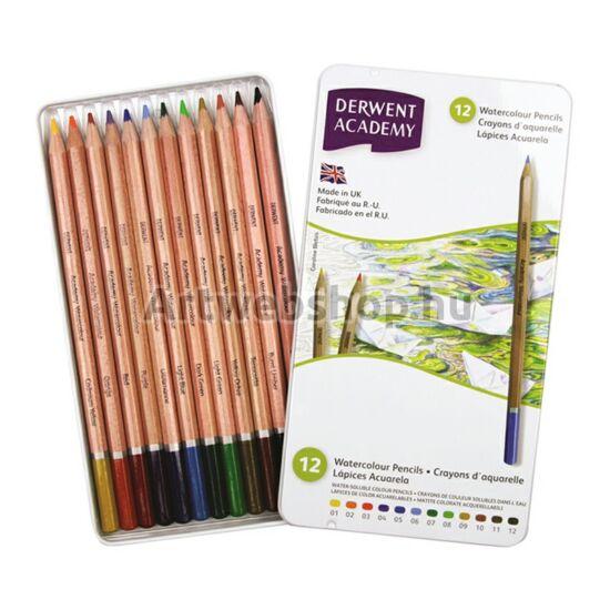 Academy Akvarell Ceruza - 12 darabos készlet