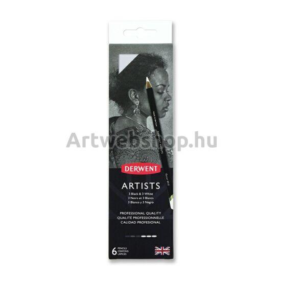 Derwent Artists Ceruza - 6 darabos készlet