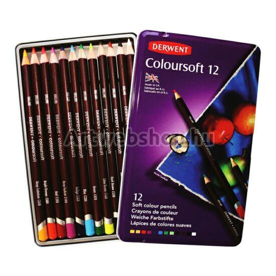 Derwent Coloursoft Ceruza - 12 darabos készlet