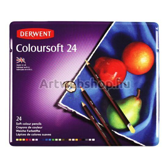 Derwent Coloursoft Ceruza - 24 darabos készlet