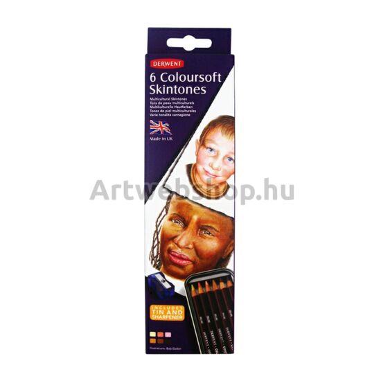 Derwent Coloursoft Ceruza - 6 darabos készlet (Arctónusok)