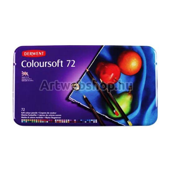Derwent Coloursoft Ceruza - 72 darabos készlet