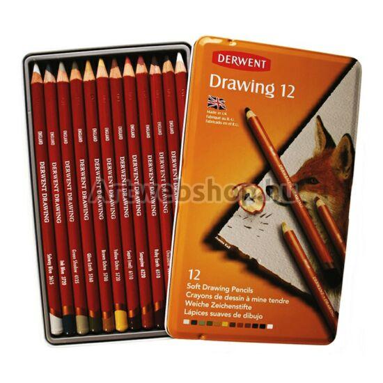 Derwent Drawing Ceruza - 12 darabos készlet