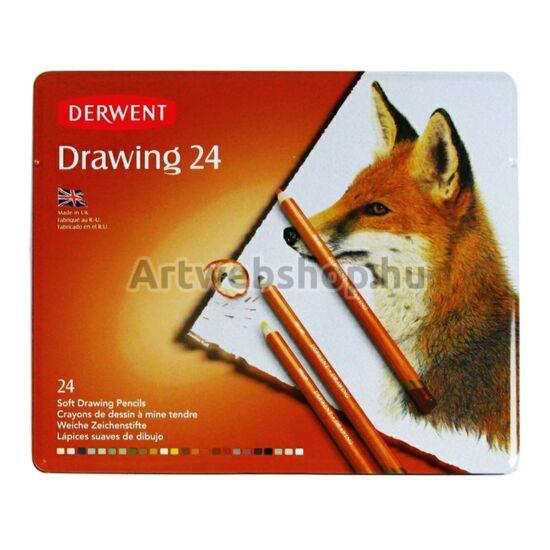 Derwent Drawing Ceruza - 24 darabos készlet