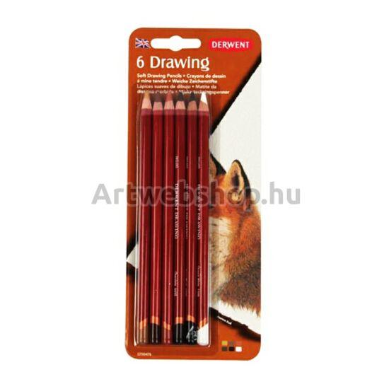 Derwent Drawing Ceruza - 6 darabos készlet (bliszteres)
