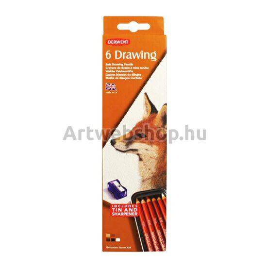 Derwent Drawing Ceruza - 6 darabos készlet