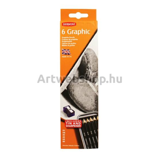 Derwent Grafitceruza - 6 darabos készlet