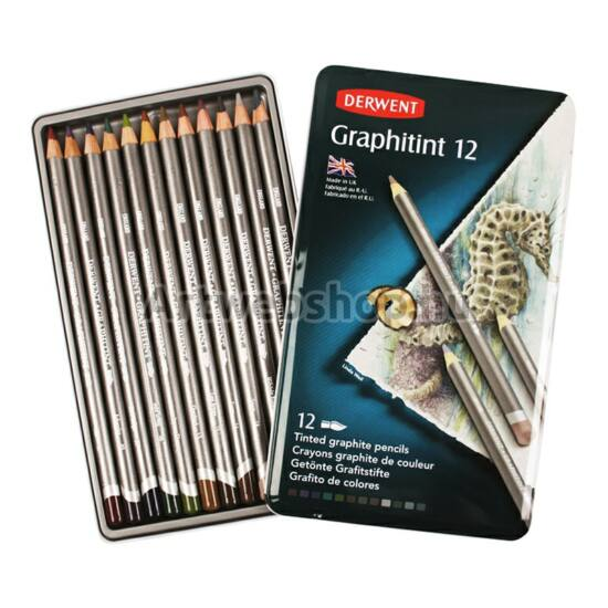 Derwent Graphitint Ceruza - 12 darabos készlet