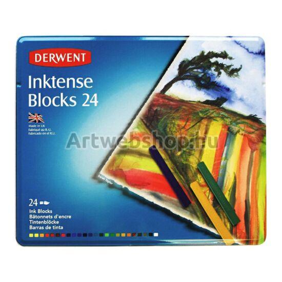 Derwent Inktense Tintakréta - 24 darabos készlet