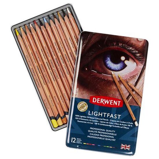 Derwent Lightfast Ceruza - 12 darabos készlet