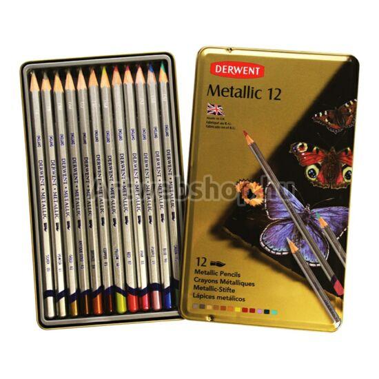 Derwent Metál Ceruza - 12 darabos készlet