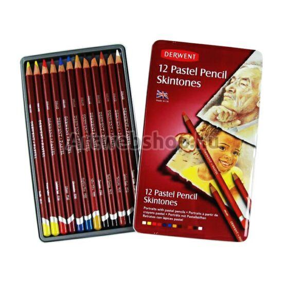 Derwent Pasztell Ceruza - 12 darabos készlet (Arctónusok)