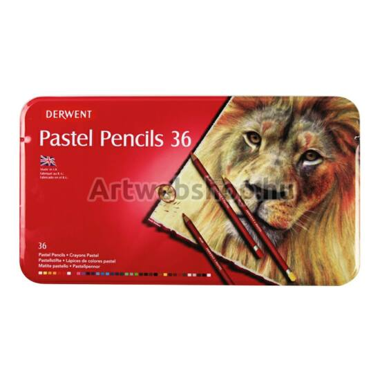 Derwent Pasztell Ceruza - 36 darabos készlet