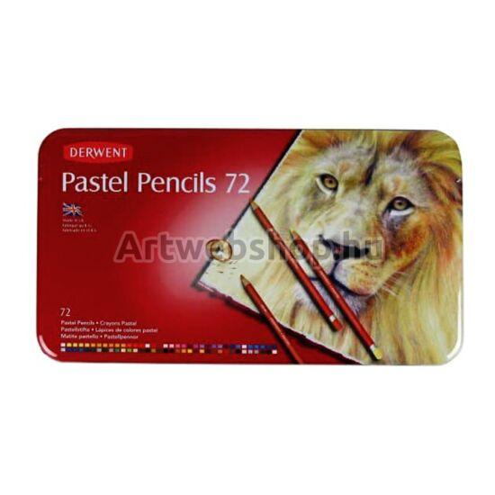 Derwent Pasztell Ceruza - 72 darabos készlet