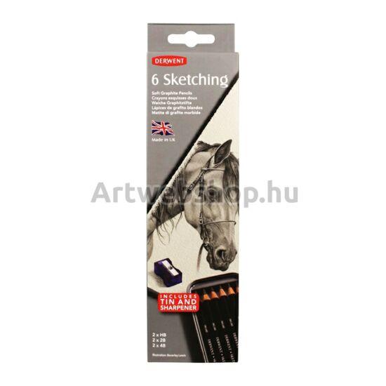 Derwent Skicc Ceruza - 6 darabos készlet