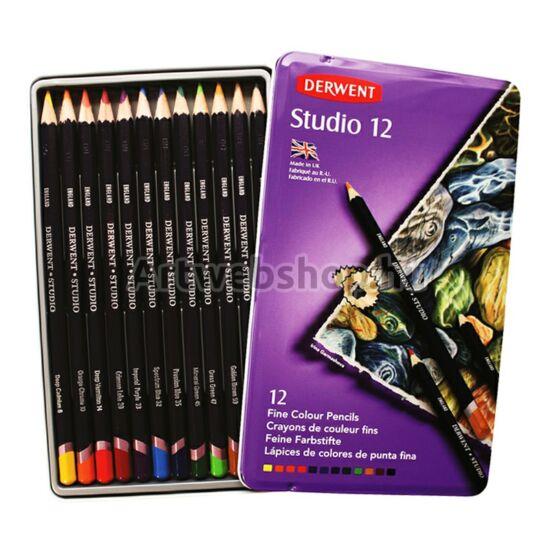 Derwent Studio Ceruza - 12 darabos készlet
