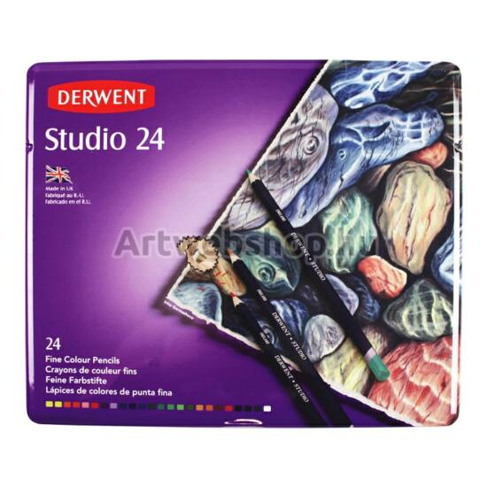 Derwent Studio Ceruza - 24 darabos készlet