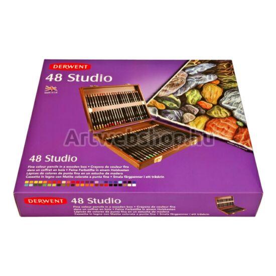 Derwent Studio Ceruza - 48 darabos fadobozos készlet