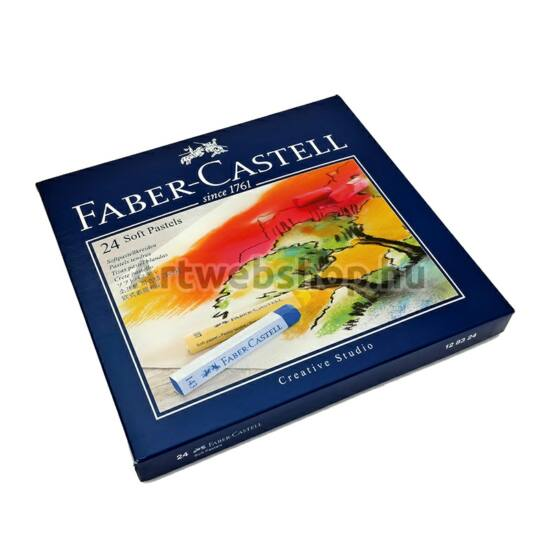 Faber-Castell Creative Studio Porpasztell - 24 darabos készlet