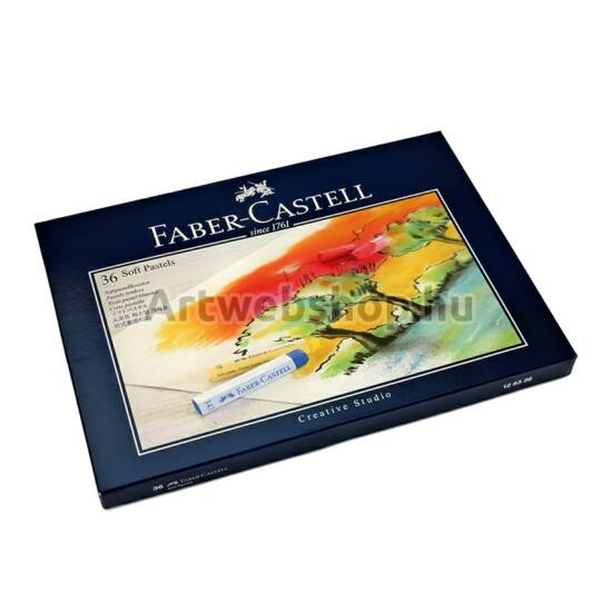 Faber-Castell Creative Studio Porpasztell - 36 darabos készlet