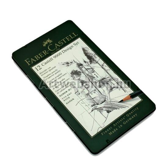 Faber-Castell Grafitceruza - 12 darabos készlet (DESIGN)