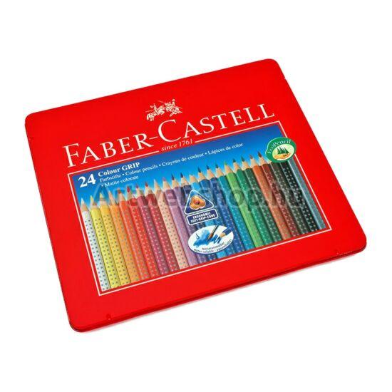 Faber-Castell Grip Színes Ceruza - 24 darabos készlet