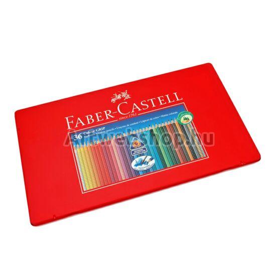 Faber-Castell Grip Színes Ceruza - 36 darabos készlet