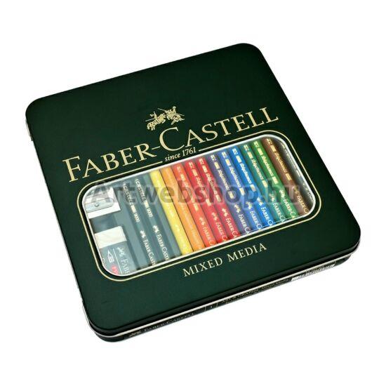 Faber-Castell Mixed Media Rajzkészlet - 16 darabos