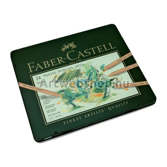 Faber-Castell Pitt Pasztell Ceruza - 24 darabos készlet