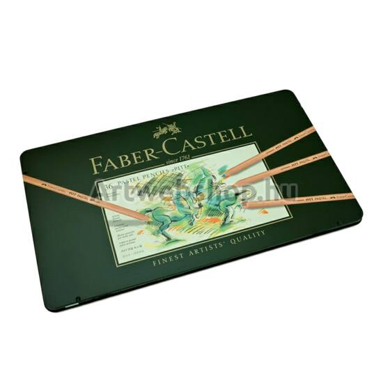 Faber-Castell Pitt Pasztell Ceruza - 36 darabos készlet