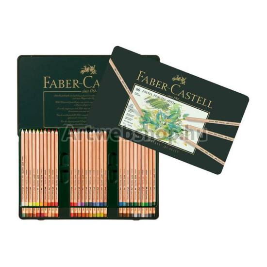 Faber-Castell Pitt Pasztell Ceruza - 60 darabos készlet