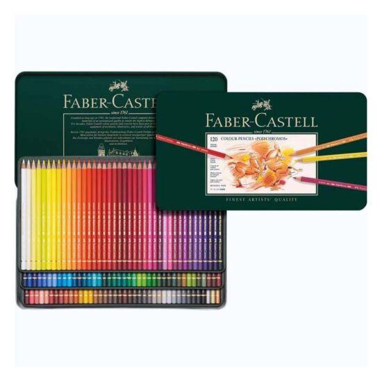 Faber-Castell Polychromos Ceruza - 120 darabos készlet