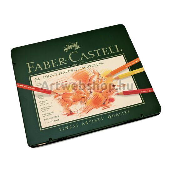 Faber-Castell Polychromos Ceruza - 24 darabos készlet