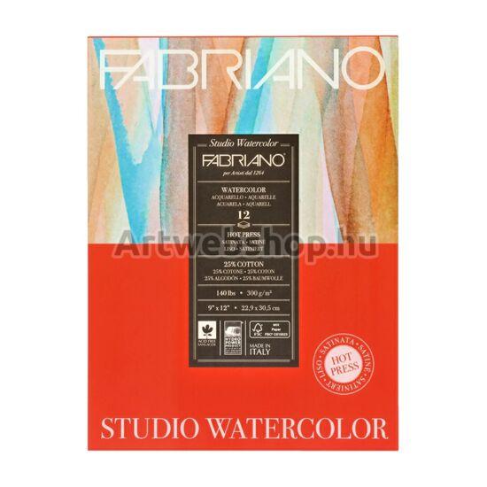 Fabriano Akvarell Festőtömb (hot press)