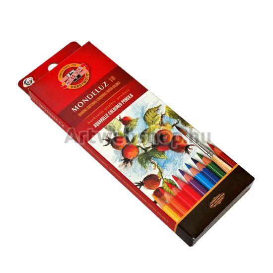 Mondeluz Akvarell Ceruza - 18 darabos készlet