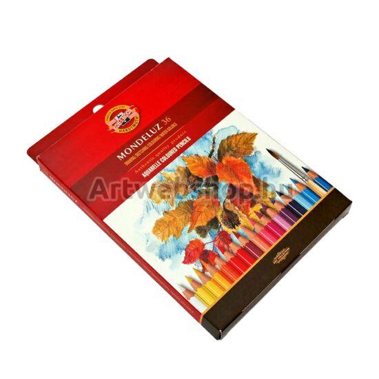 Mondeluz Akvarell Ceruza - 36 darabos készlet