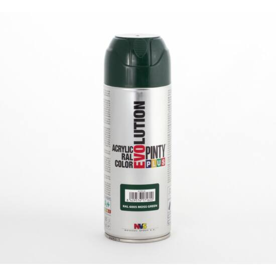 Novasol Evolution Akril Spray - 400ml (6005 mohazöld)