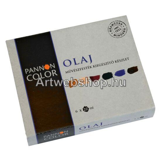 Pannoncolor Olajfesték - 6 darabos kiegészítő készlet