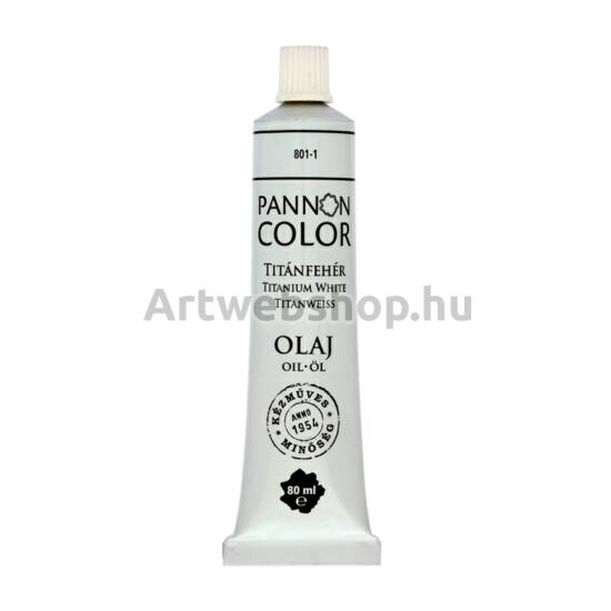 Pannoncolor Olajfesték - 80ml