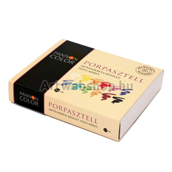 Pannoncolor Porpasztell - 12 darabos készlet (feles)