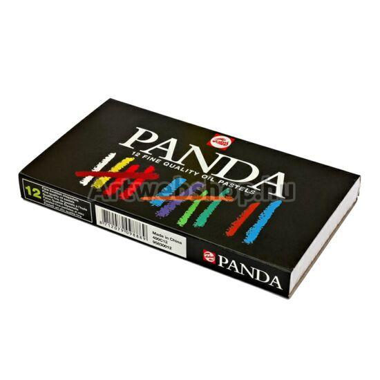 Panda Olajpasztell - 12 darabos készlet
